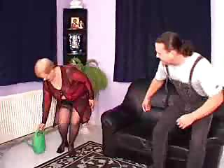 Porn Tube of German Granny Threesome
