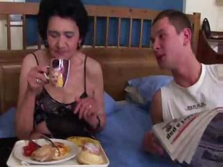 Porno Video of Old Granny And Young Cock