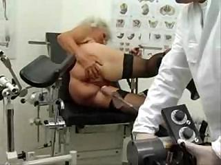 Granny Norma Works Out On A Sex Machine