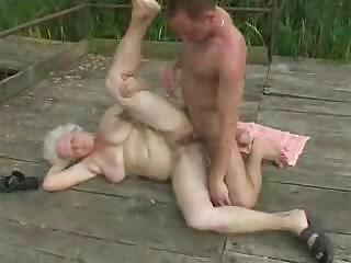 Porno Video of Fucking His Granny