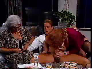 Porn Tube of Grannies Enjoy A Gangbang