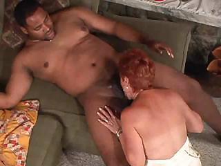 Hot Redhead Granny Cougar Takes BBC