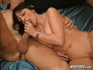 Porn Tube of Amateur Granny Blowjob
