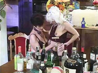 Porno Video of Granny Gets Frisky At Her Party