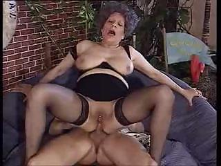 Porn Tube of Old Granny Fucking Young Cock