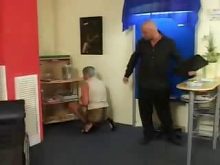 Porn Tube of Old Gray Haired Granny