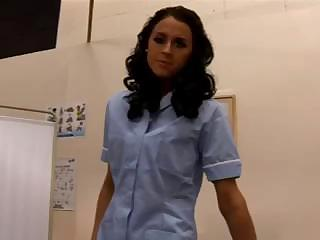 Nurse Louise Jenson Giving A Harsh Handjob