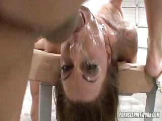 Porn Tube of Chasey Evans Gets Sloshed With Sperm In This Scene