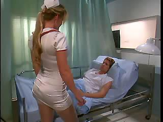 Porno Video of Two Hot Nurses Fuck A Patient In The Hospital