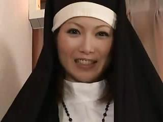 Porn Tube of Creaming Inside The Nun