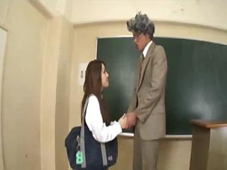 Asian Schoolgirl Is Teachers Sex Slave