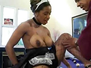 Porno Video of Ayana Angel As French Maid