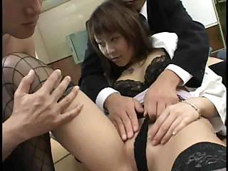 Porno Video of Japanese Lady Boss 2