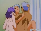 Groupsex orgy in the shower in this part1