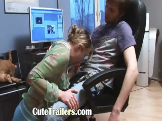 portuguese teenagers fuck in the office