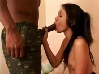Porno Video of Atiny Asian Gets Destroyed By A Big Black Dick