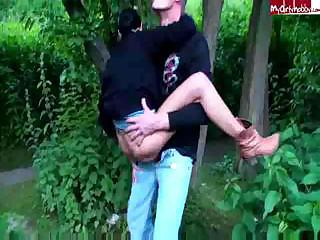 Porno Video of Sex In The Park