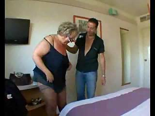 Sex Movie of Mature Blonde With Glasses