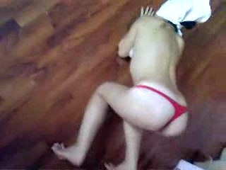 Bondaged Girlfriend Breaks Free From Restraints