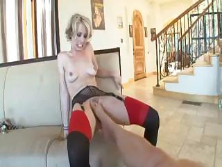 Porn Tube of Really Rough Anal Slave