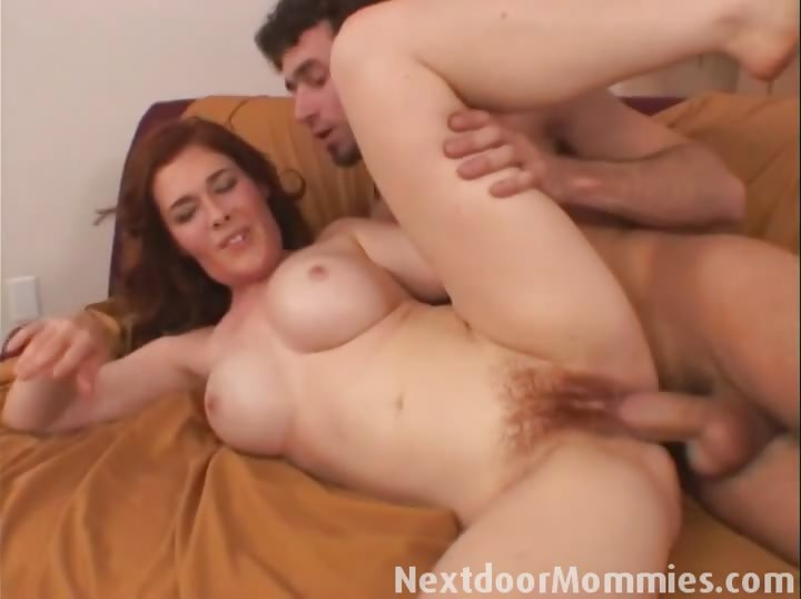 Porno Video of Redhead Mom Sucking And Fucking