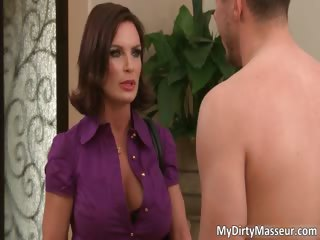 hot brunette milf with huge breasts part3