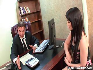 Porno Video of Ashlyn Rae Servers Her Boss Well