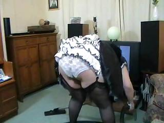 Porno Video of Middle-aged Italian Maid With Very Big Tits Is Waiting For Her Cock