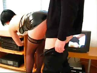 Porno Video of Dirty Secretary Invites Her Boss For A Cup Of Coffee And Fucks Him