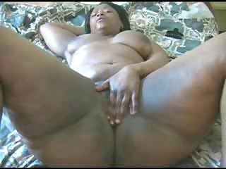 Porno Video of Two Big Ebony Lovers Are Fucking Fervently On Queen Size Bed