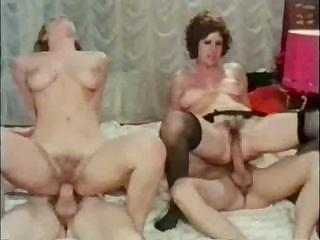 Porno Video of Vintage Creampie From Hairy Lesbo Prostitutes And Aroused Guy