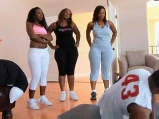 Porno Video of Three Big Ass Black Girl