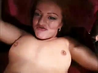 Little slut getting shared by three black zombies with monstrous cocks