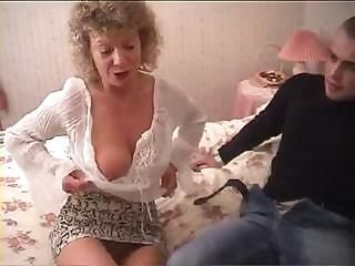 Porno Video of British Granny Goes Totally Insane And Tries To Fuck With Her Grandson's Friend
