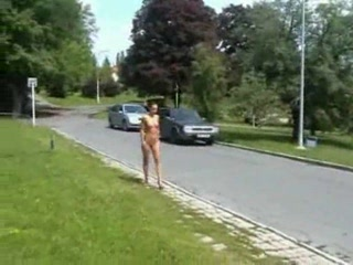 Zuzana Nude In The Streets
