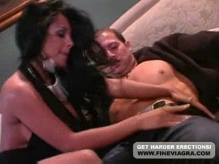 Porn Tube of Sexy Babe Nina Mercedez Hammered By Stud On Sofa