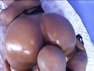 Porno Video of Oiled Ebony Butt Is Soon Going To Be Used Extensively By This Dick