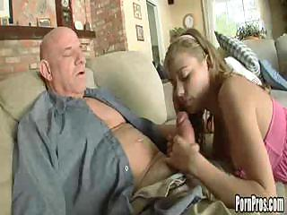 Porn Tube of Nicole Ray With An Old Dude