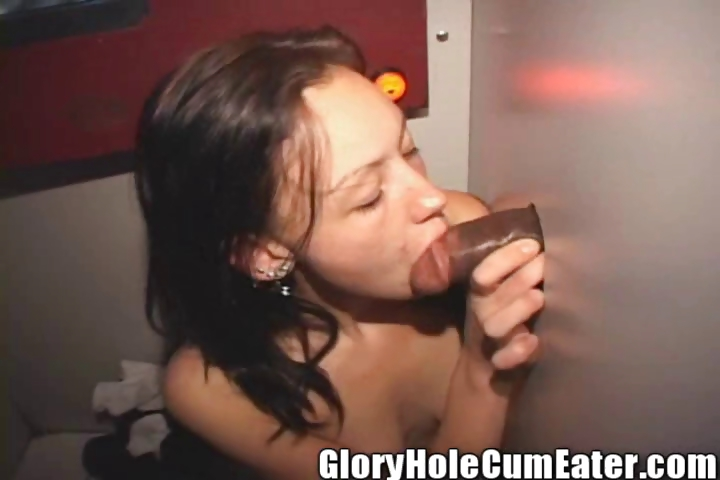 Porno Video of 19 Year Old Ebony Gloryhole Girl Kim Sucks Cocks Clean