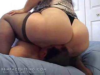 Porno Video of Hugh Ass Face Sitting