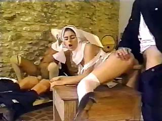 Porn Tube of Dirty Policemen Busted Having An Intimate Affair With Sexy Nuns