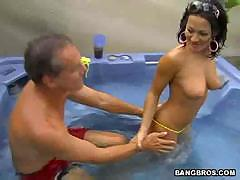 попка изнутри секс