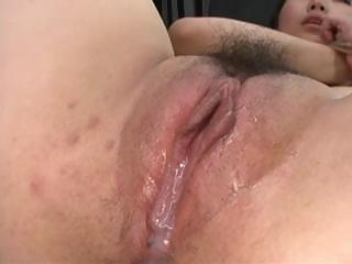 Extreme Asian bondage - Creampie and Facial