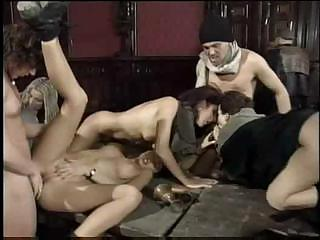Porn Tube of Anita Dark Participates In Classic Gangbang With Her Fucked-up Friends