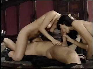 Anita Dark participates in classic gangbang with her fucked-up friends
