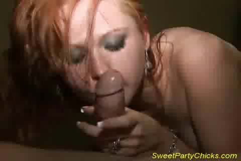 Porno Video of Sweet Party Chick Takes Cock