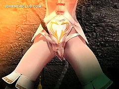 3d hentai sex slave fucked by big tentacles