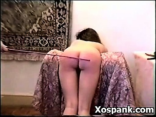 Spanking Chick In Seductive Fetish Porn