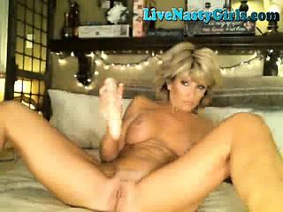 Hot Mature Milf Masturbates On Webcam 4
