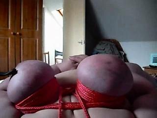 Spanked boobs